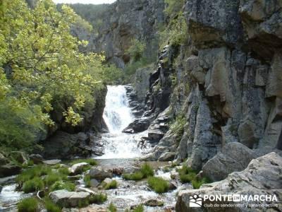 Cascadas del Purgatorio - Excursiones desde Madrid; equipo de senderismo; rio jarama mapa